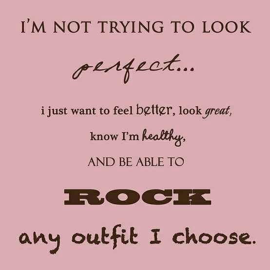 It takes hard work but when you get there and can wear whatever you want, it feels amazing!