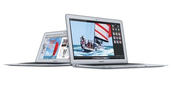 Macbook Air 11 y 13 se actualizan ligeramente y bajan de precio.