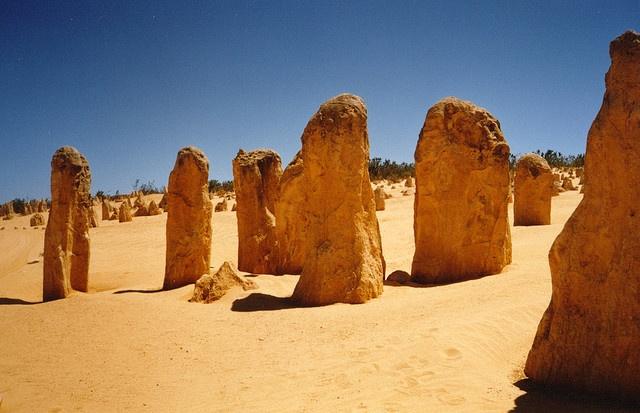 the Pinnacles, Western Australia ...