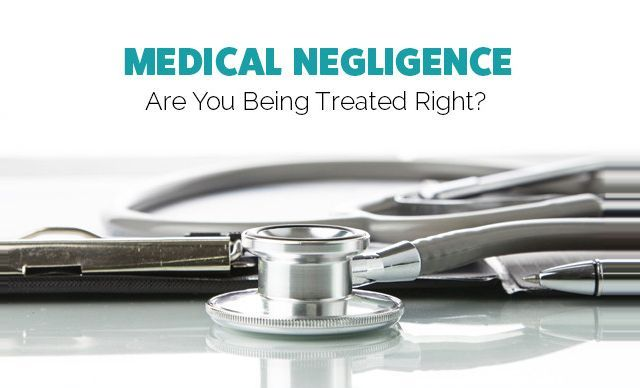 """Medical negligence is defined as, """"the deviation from accepted standards of care."""" Standards of care are often subject to debate, so medical negligence cases are very difficult to prove."""