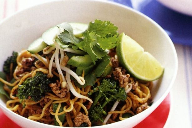 Minced beef and black bean noodles #RealStock #Recipes #MadefromScratch