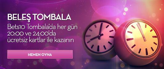 Bets10 Tombala