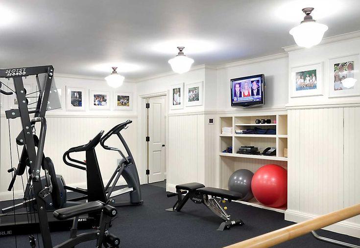 John b murray architect storage for gym equipment home