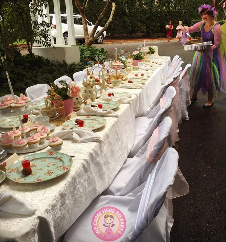 """35 Likes, 4 Comments - We Came Here To Party (@wecameheretopartyaus) on Instagram: """"🎀Our Fairy Casey setting up a magical high tea🎀"""""""