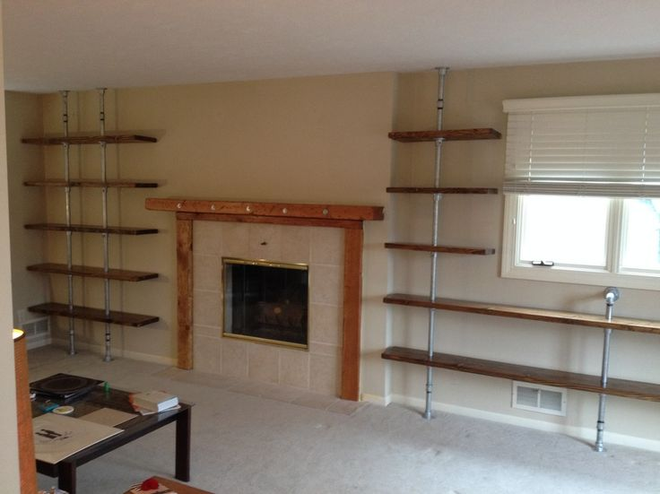 501 Best Images About Industrial Pipe Shelves On Pinterest