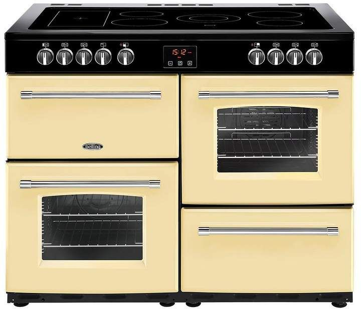 Perfect for any country / farm house- Belling Belling Farmhouse 100E 100cm Electric Ceramic Range Cooker - Cream #rangecooker #ad