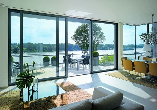 Schuco ASS70HI lift and slide doors  Our top of the range Stylish German built Lift & slide door is robust, easy to operate & very durable! One of the smoothest opening doors currently on the market! Now Available at Klarheit near Nottingham