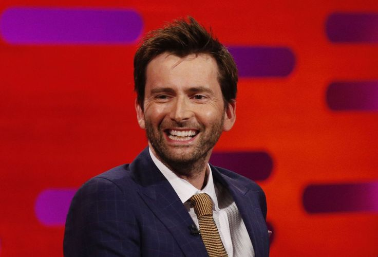PHOTO OF THE DAY - 23rd May 2015:   David Tennant on The Graham Norton Show (2015)