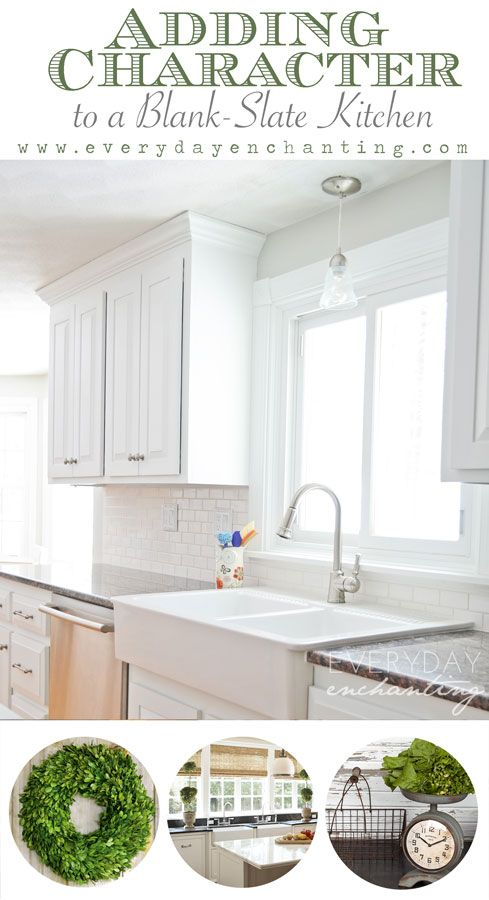 Adding Character to Our Blank-Slate Kitchen Pt.1