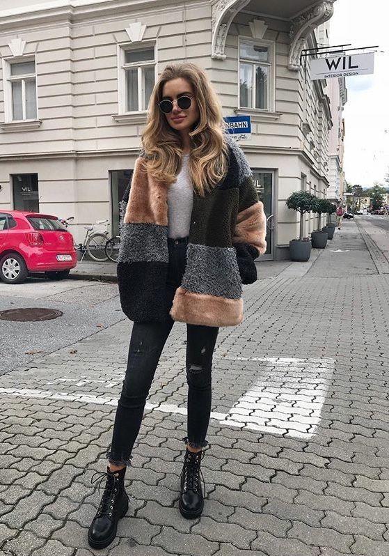 Maneras súper cool de usar abrigos – Magazine Feed