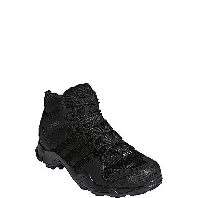 Falsificación dinosaurio Folleto  adidas outdoor Terrex AX2R Mid GTX Hiking Boot - Men's Black/Black/Black,  11.5 Review | Hiking shoes mens, Hiking boots, Boots