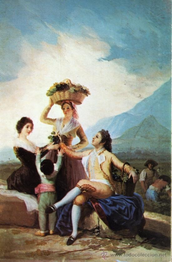 La vendimia de Francisco de Goya: Goya, Oil Paintings, Color Palettes, Francisco Goya, Wine Country, Grape Harvest, Francisco De, Vintage