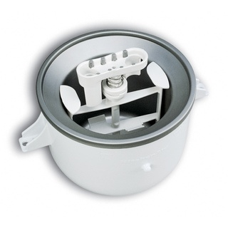 @Overstock - Use this KitchenAid ice cream attachment to make your KitchenAid mixer do double duty as an ice cream maker. You can use this versatile attachment to make two quarts of frozen desserts or delicious soft-serve ice cream in less than 30 minutes.http://www.overstock.com/Home-Garden/KitchenAid-KICA0WH-Ice-Cream-Bowl-Attachment/5094852/product.html?CID=214117 $79.99