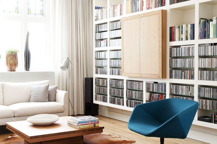 Kast ontwerp en interieurplan gerealiseerd door jolanda knook interieurvormgeving www - Bibliotheques ontwerp ...
