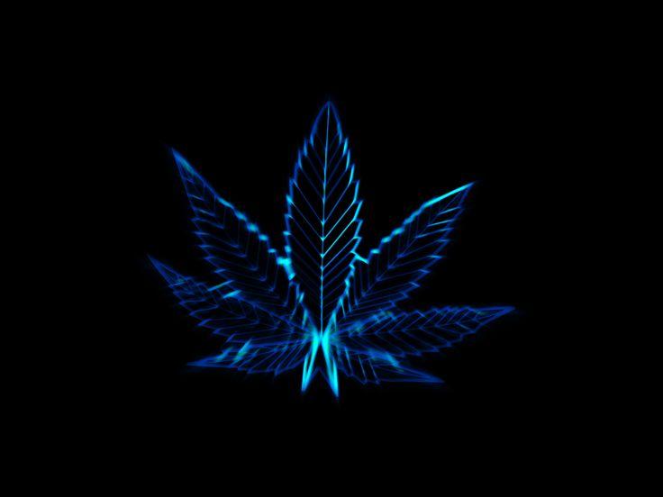 Electrified Marijuana by neverdying.deviantart.com on @deviantART