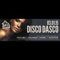 DISCO DASCO LA ROCCA 2015 - 01 - 03 P4 DJ SAMMIR by DISCO DASCO on SoundCloud Opwarmerke voor zaterdag :D