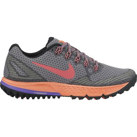 Nike Air Zoom Wildhorse 3 Trail Running Shoe #nike #trail #running #hiking