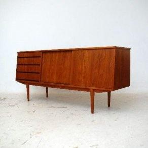 1960s teak sideboard from retrospective interiors