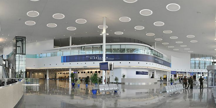 Gibraltar Airport by bblur architecture and 3DReid