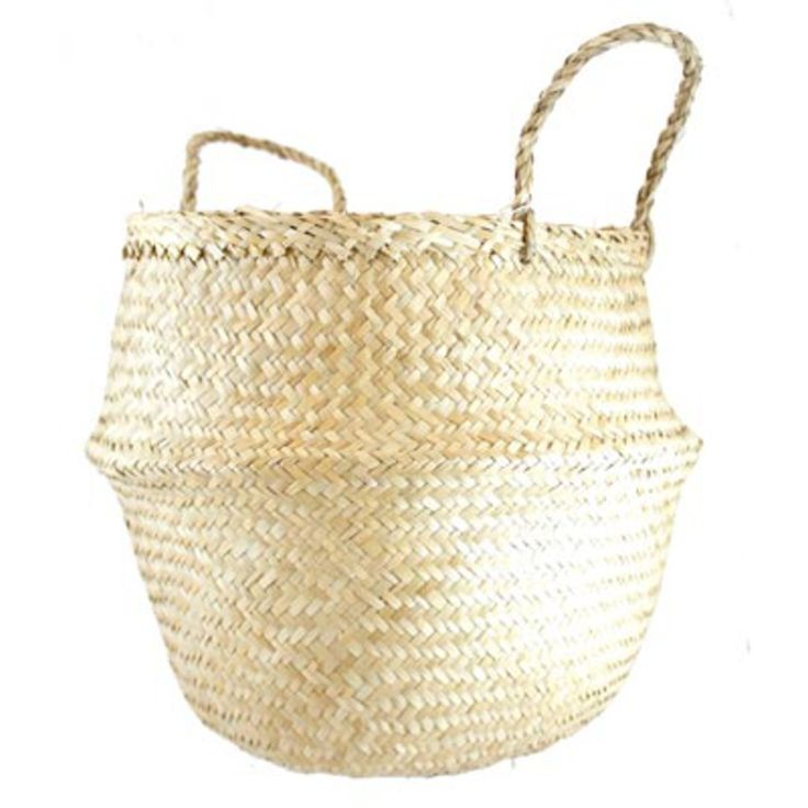 <p>This is basket with a difference. Hand-woven from seagrass using traditional techniques, it is strong, durable and an attractive environmentally solution to plastic bags. Great for around the house or heading to the markets. Collapsible for quick and easy storage. </p> <p>Made in the Ninh Binh Province, Vietnam. Seagrass grows in fields close to the shore where the it is watered with the tides. It takes roughly six months for the seagrass to grow to around two and a half metres in…