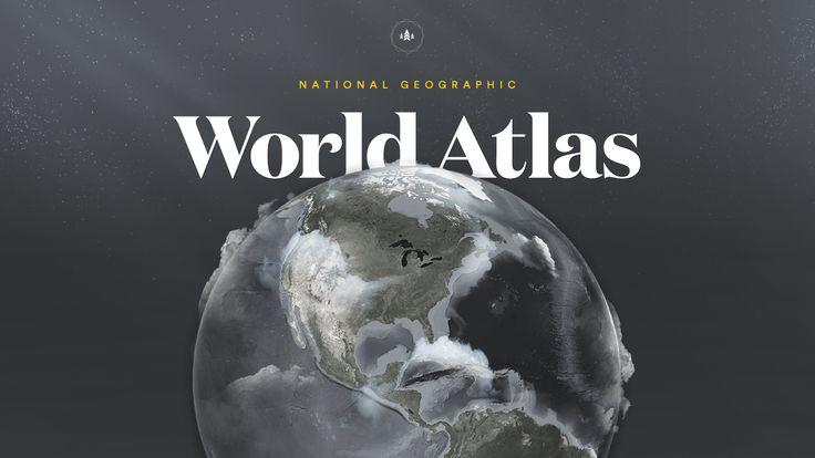 National Geographic World Atlas iOS App on Behance