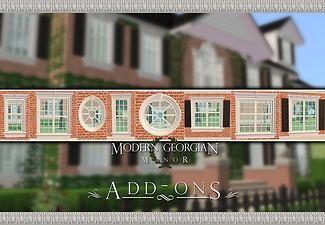 Mod The Sims - Modern Georgian Manor Add-Ons