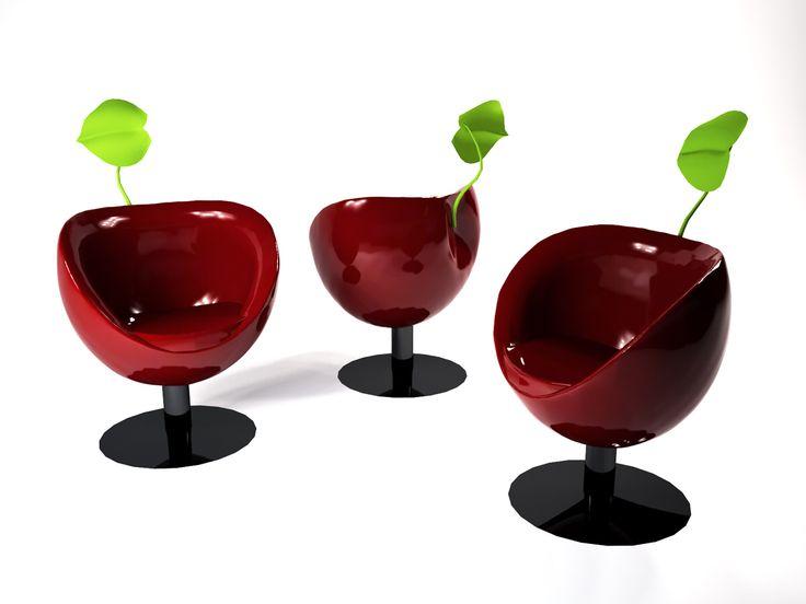 My Cherry armchair