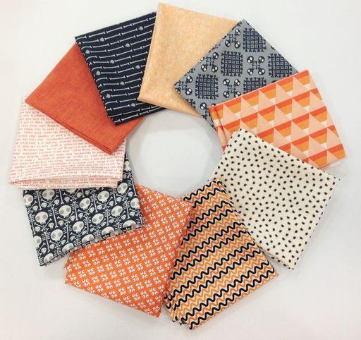 Liz's Halloween Bundle - 10 Fat Quarters : Sew Modern