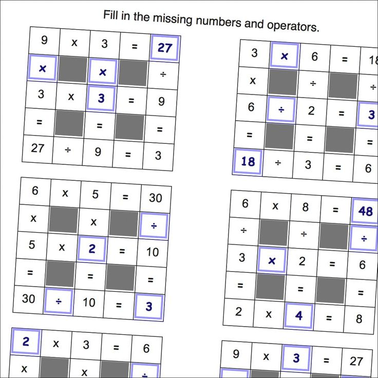 Ready to try something new for learning multiplication? Math Worksheets Grid Puzzles (Multiplication and Division)