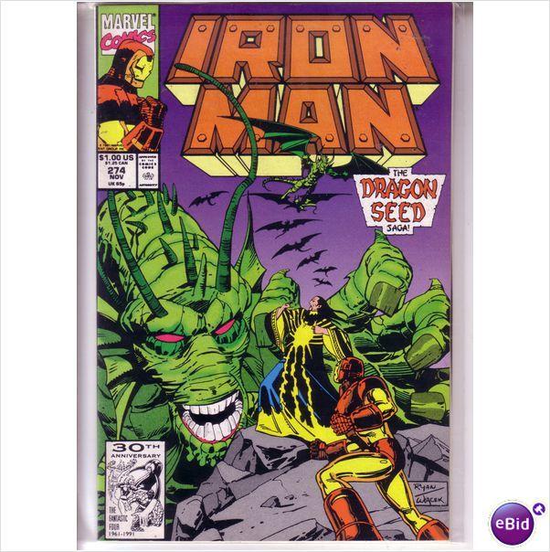 Marvel Comics Iron Man #274 Nov 1991 on eBid United Kingdom