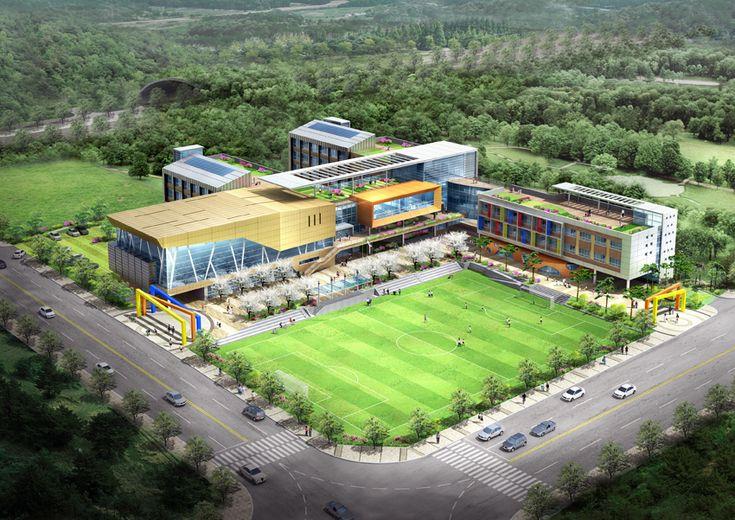 남양주별내 화접초등학교, 현상설계, 2010, 3발