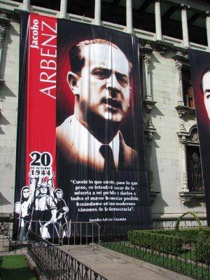 Jacobo Arbenz, héroe nacional en Guatemala. Más en http://es.wikipedia.org/wiki/Jacobo_Arbenz_Guzm%C3%A1n
