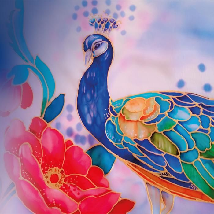 Silk-painting-course: Saturday, Mar 18, 2017 09:00 h to Monday, Mar 20, 2017 17:30 h
