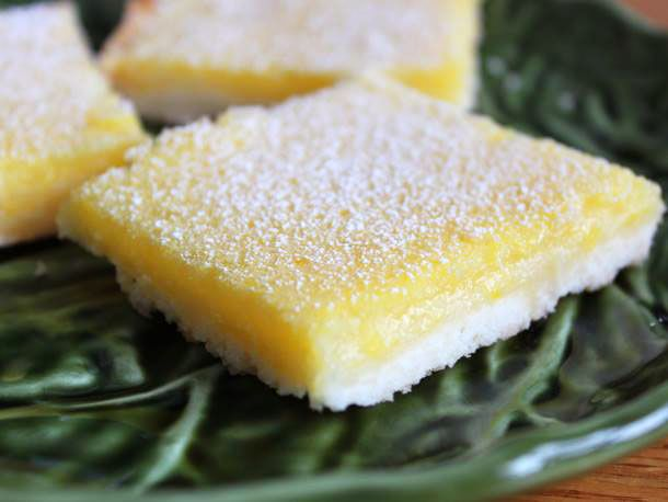 Gluten Free Lemon Bars - One of my favorite desserts in the whole wide world