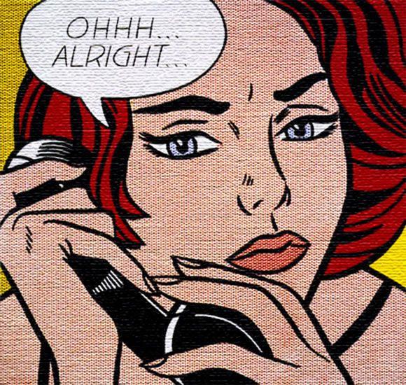 Fox Roy Lichtenstein (1923 - 1997), pintor, escultor y artista, fue uno de los principales exponentes del Pop Art. Esta ilustración suya data de 1964.