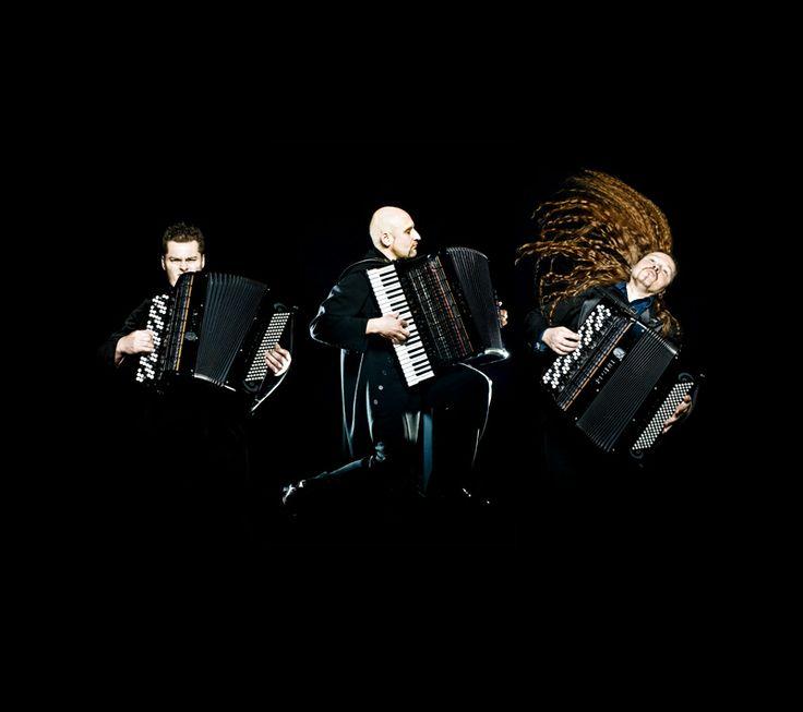 KOKKOLAN TALVIHARMONIKKA  photo Jacek Poremba in picture Motion Trio