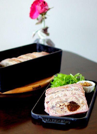 ストウブで鶏レバーのパテドカンパーニュ♫ by manngoさん   レシピ ...