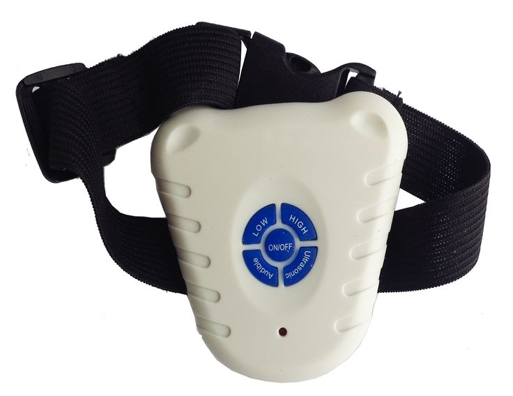 Pet Life Non-Shock Safe Anti-Bark Collar- As Displayed - The Pet Life Anti-Bark Dog Collar is Water Resistant and Utilizes a specific Ultra-Sonic Frequency Vibration that Safely Reduces or Completely Eliminates Dog Barking. This Anti-Bark Collar also has an Audible Setting that can be turned On/Off that further helps Decrease Barking. The Collar is also Adjustable and suitable for All Dog Neck Diameter Sizes. This Ant-Bark Collar is an appropriate Safe and Healthy Alternative to training...