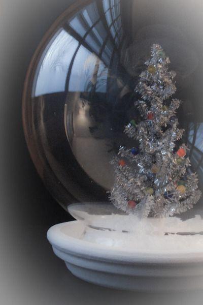 How To: Make a Miniature Tinsel Tree Snow Globe