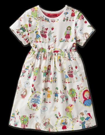 We love Oilily especially this Once Upon A Time Dress.