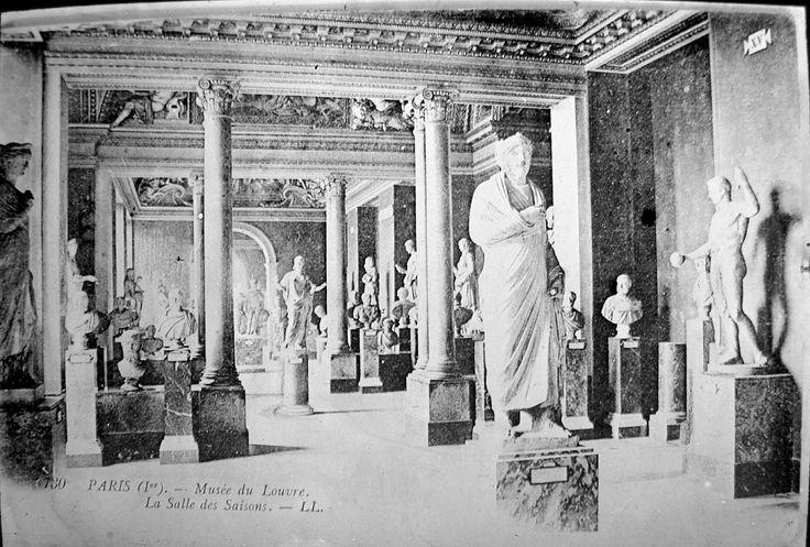 The Louvre - La Salle des Saisons
