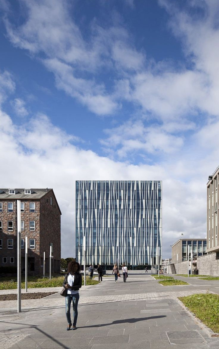 11 best University of Aberdeen New Library images on Pinterest ...