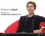 Florence Haxel - Votez pour le prix Bouygues Telecom de la Femme entrepreneure numérique 2012 avec le Salon des micro-entreprises