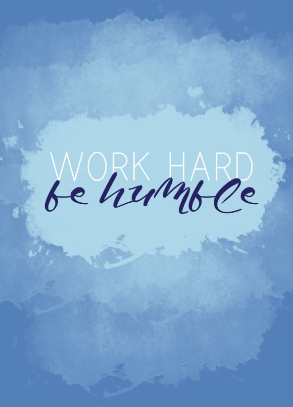how to be humble at work