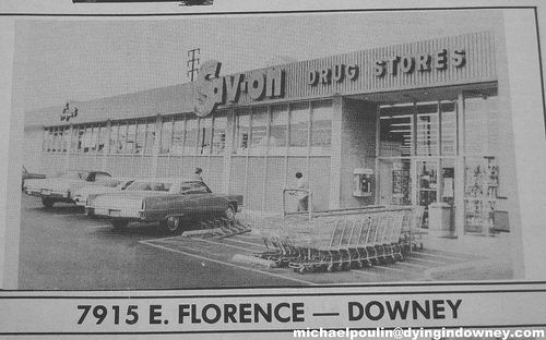 Sav-on Drug Store at 7915 E. Florence (City of Downey California ...