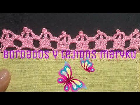 1e29d525c PUNTILLA PARA PRINCIPIANTES # 129 - YouTube | crochet | Ganchillo ...