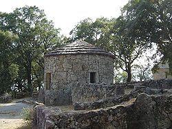 Iron age house in Citânia de Briteiros