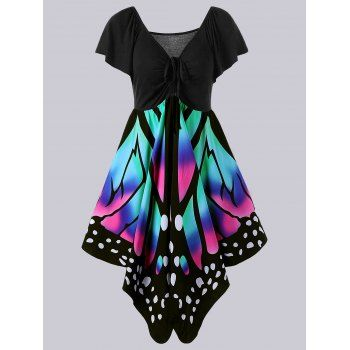 SHARE & Get it FREE | Plus Size Empire Waist Butterfly Print DressFor Fashion Lovers only:80,000+ Items·FREE SHIPPING Join Dresslily: Get YOUR $50 NOW!