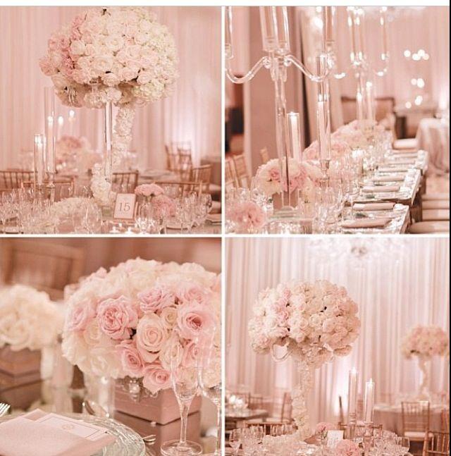 Pink wed. #WeddingColors #PinkWedding #WeddingIdeas (Best Wedding  Engagement rings at www.brilliance.com)