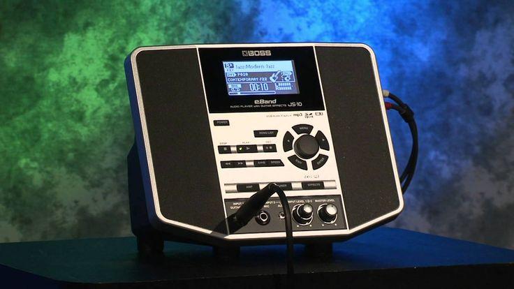 BOSS JS-10 eBand - Джем станция нового поколения с системой 2.1 Оборудование находится в магазине Музснаб г.Ступино Подробнее http://www.muzsnabst.ru/